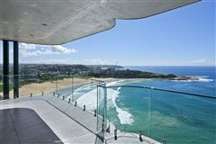 Luxury homes absolute oceanfront penthouse