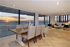 Luxury real estate absolute oceanfront penthouse
