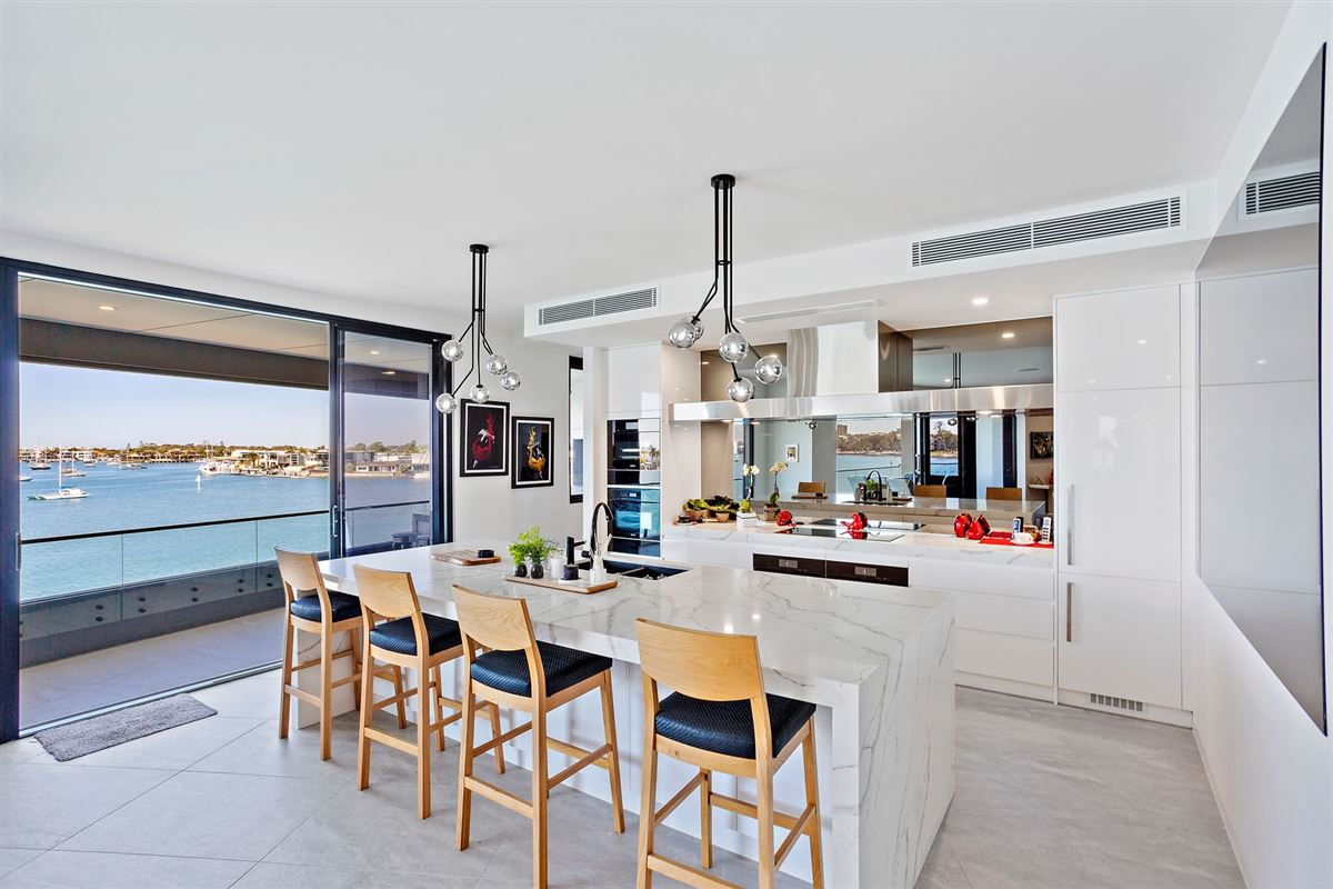 Luxury homes in The pinnacle of waterfront apartment living