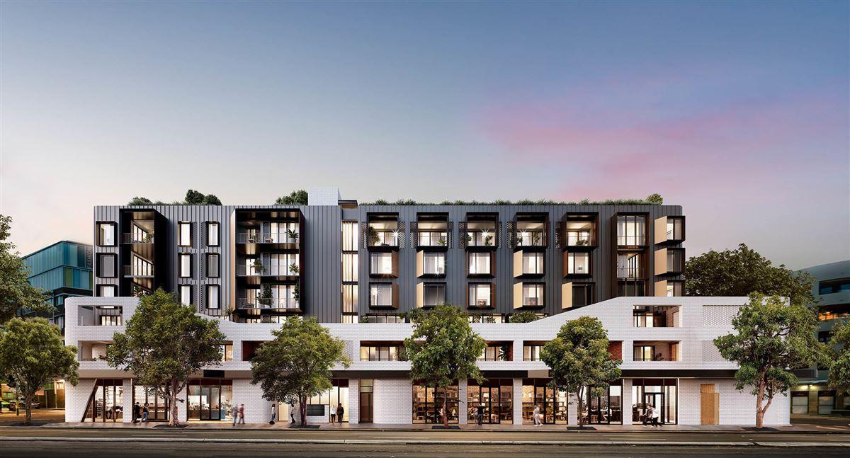 a Brand new boutique development luxury real estate