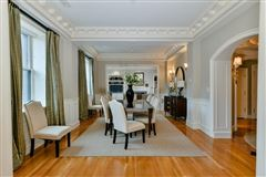 Luxury properties dramatic and sophisticated floor-through home