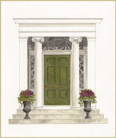 An exquisite example of the Greek Revival style luxury homes