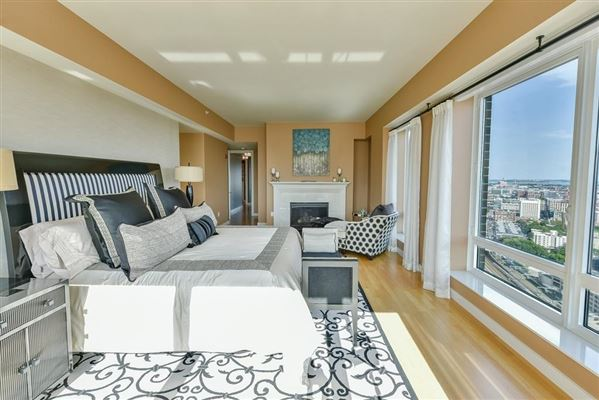 The ultimate in penthouse living atop The Clarendon luxury real estate