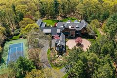 Luxury homes in Magnificent shingle style estate on four acres