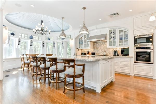 Mansions Magnificent shingle style estate on four acres