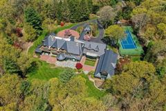 Magnificent shingle style estate on four acres luxury real estate