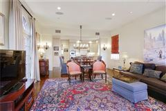 Luxury homes in grand colonial overlooking country club golf course