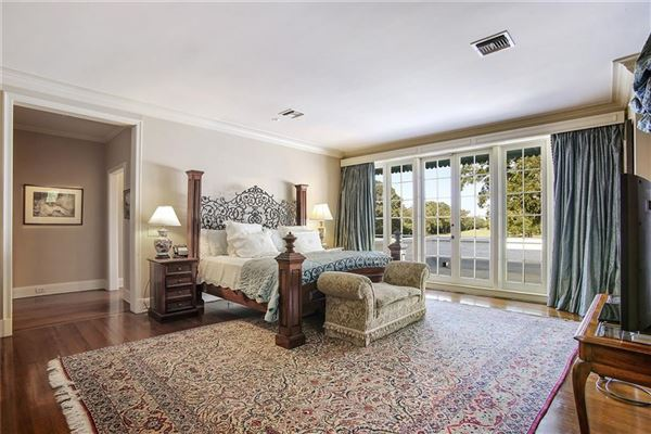 grand colonial overlooking country club golf course luxury real estate