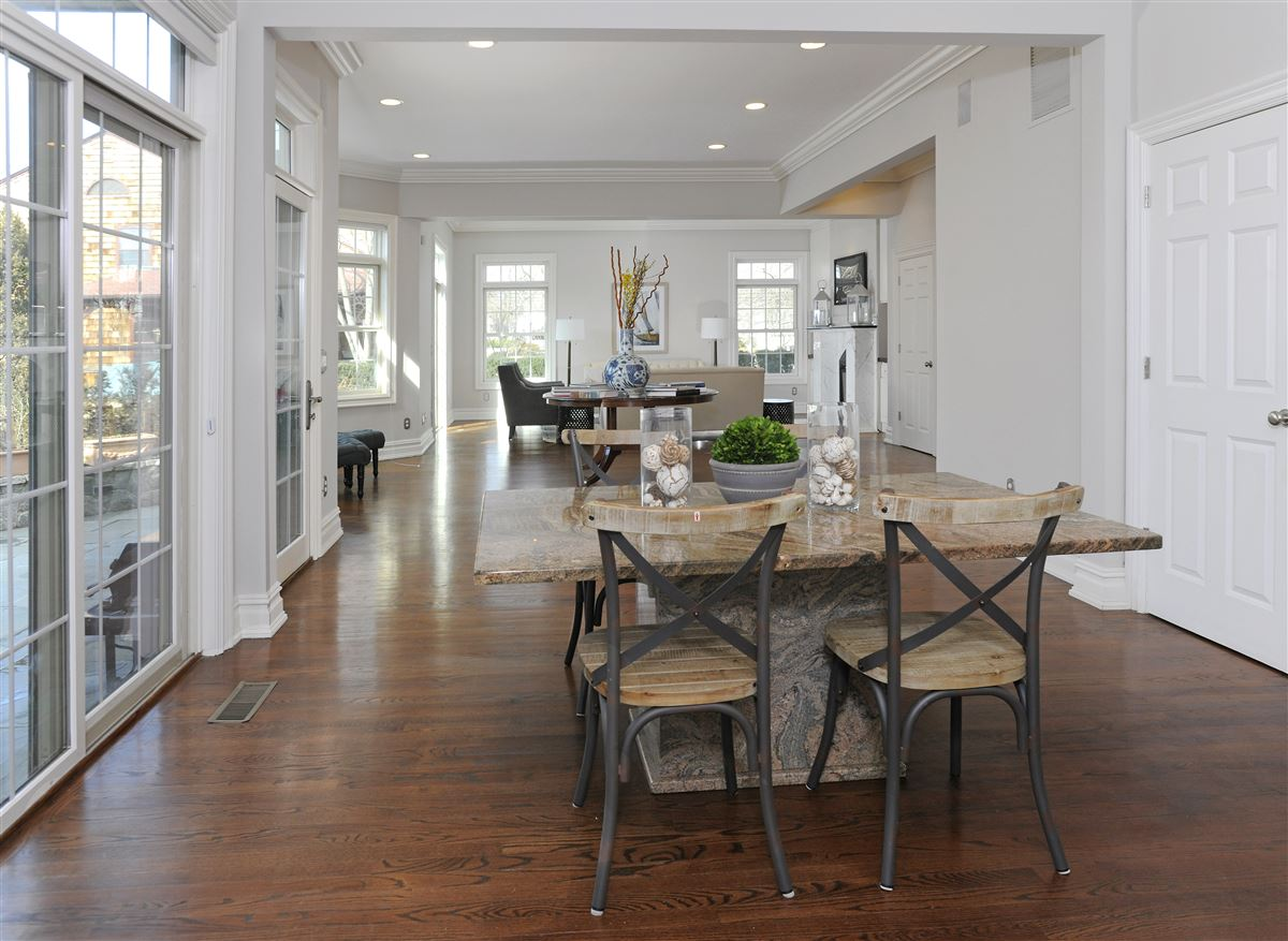 custom colonial with private beach access luxury real estate