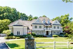 classic Woodcrest stone and shingle Colonial mansions