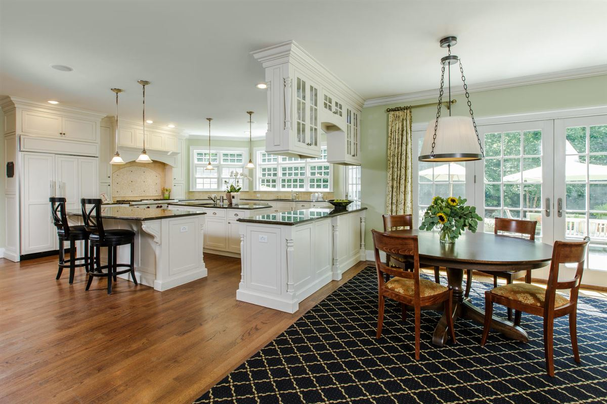 classic Woodcrest stone and shingle Colonial luxury real estate