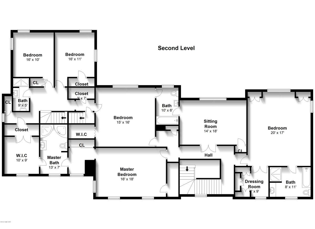 Mansions in Sensational brick manor home