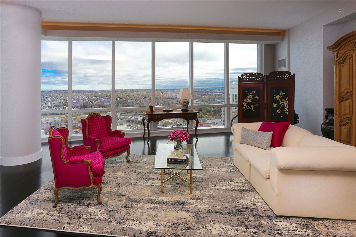 custom built penthouse in the sky  luxury real estate
