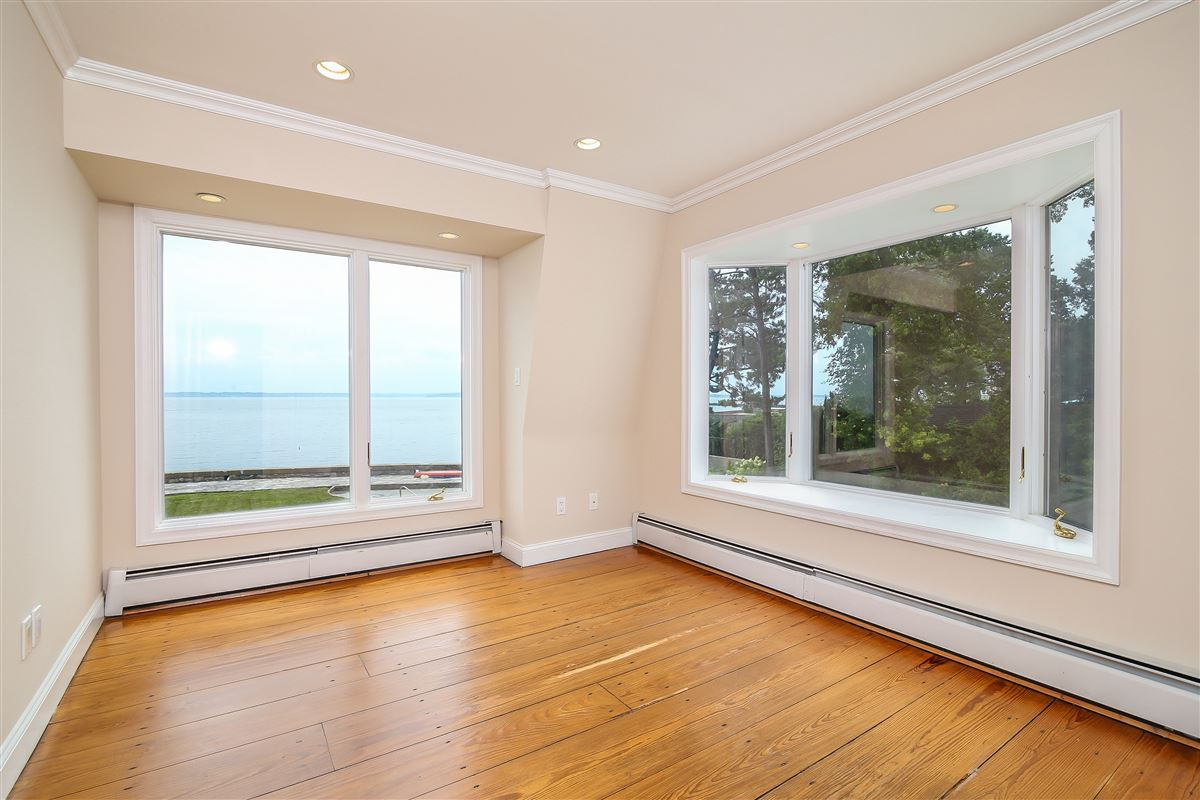 a unique setting on Edgewater Point luxury real estate