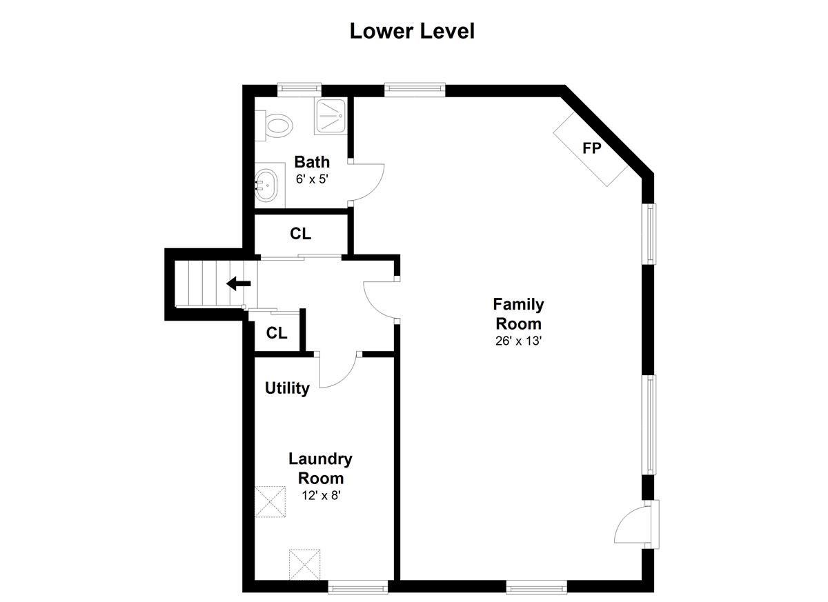 Inviting three bedroom split-level ranch mansions