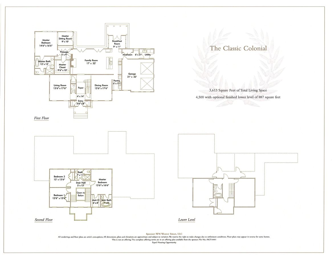 new construction in the Greens at Cherry Lawn luxury real estate
