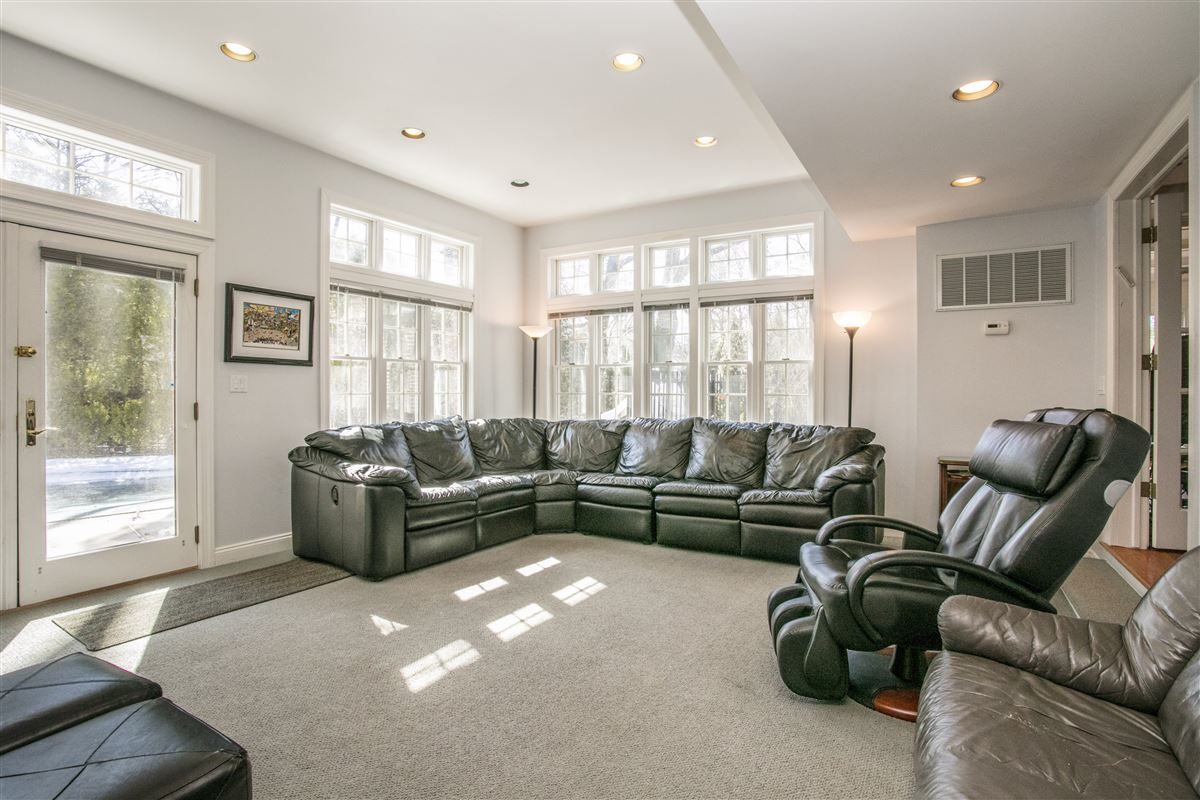 grand and sun-filled Center Hall Colonial luxury real estate
