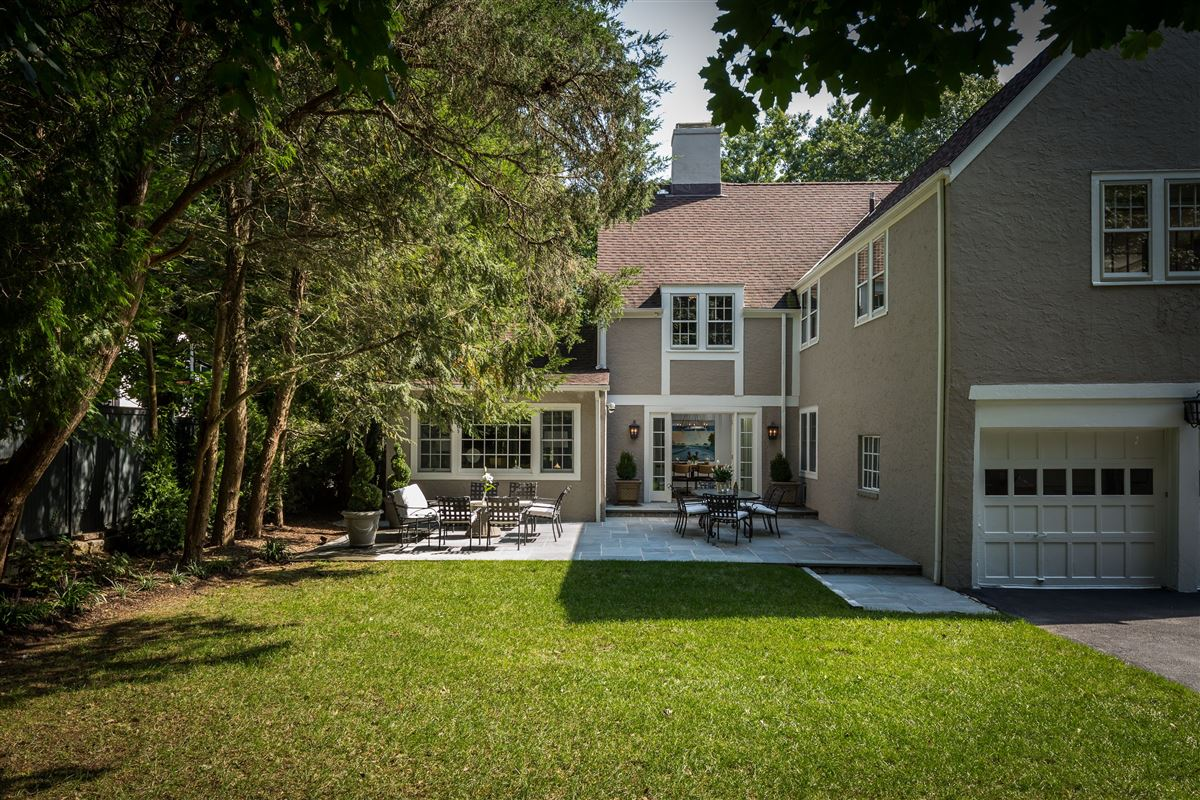 Luxury homes Handsome Tudor overlooking the Bronxville Field Club