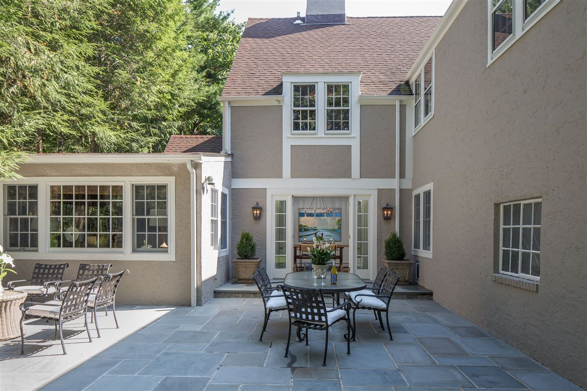 Handsome Tudor overlooking the Bronxville Field Club luxury homes