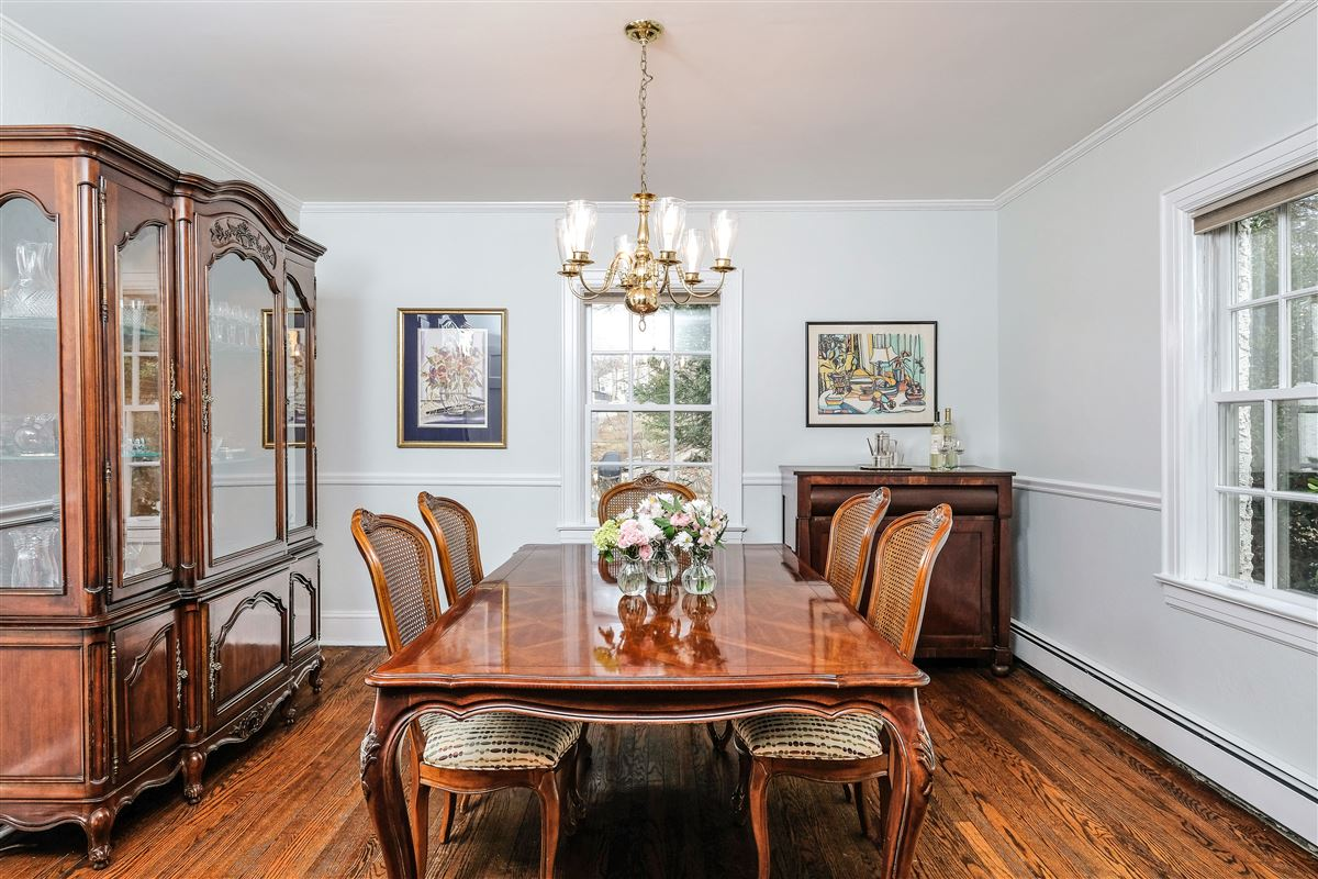 Luxury homes Village of Larchmont Tudor style home
