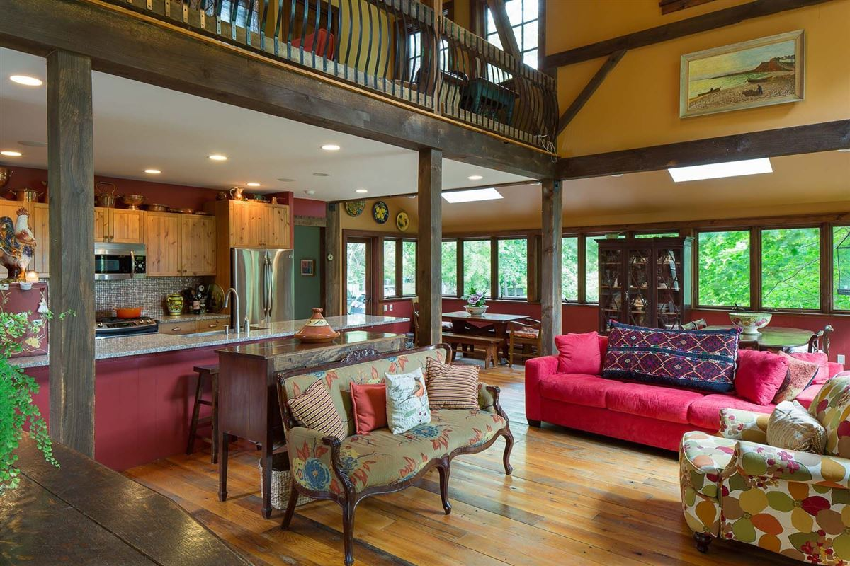 state of the art 1888 Federal-style home luxury homes