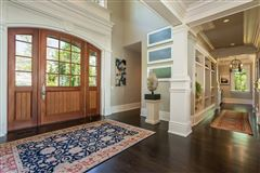 Mansions in Lounge By The Pool In This High-End Home In Darien