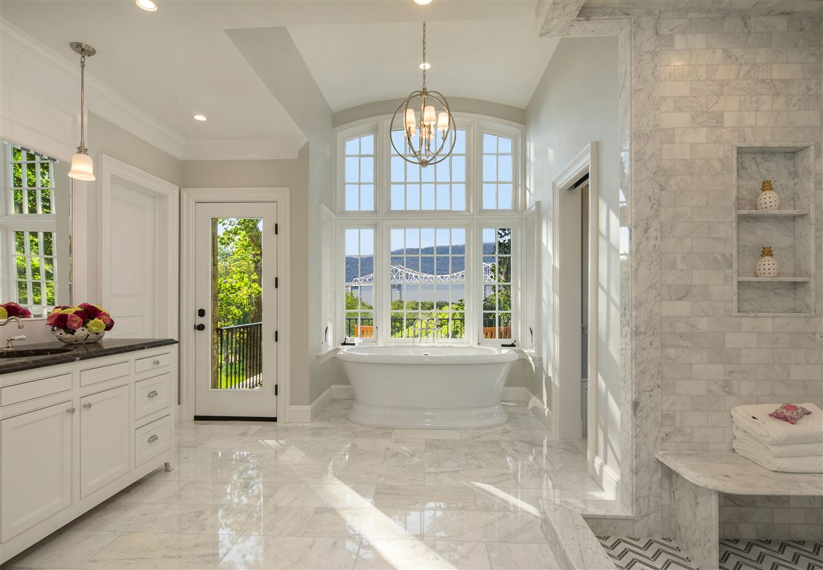 Luxury real estate magnificent stone manor