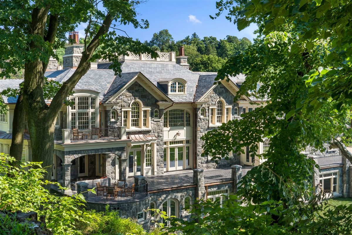 Luxury properties magnificent stone manor