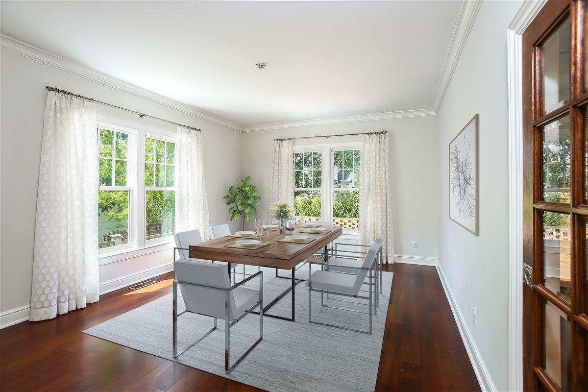 custom home in the Rowayton Beach Association luxury real estate