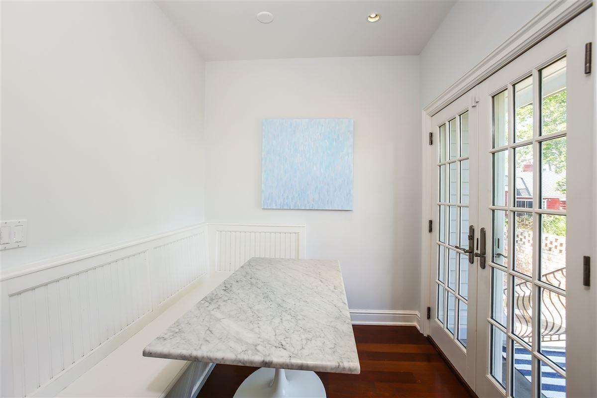 custom home in the Rowayton Beach Association luxury properties