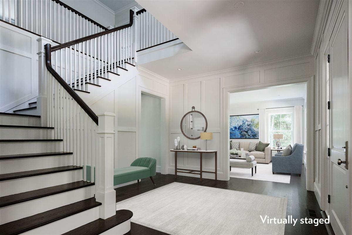 Luxury homes new  completely custom Modern Farmhouse