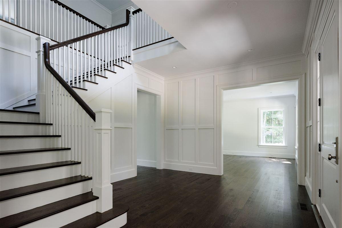 new  completely custom Modern Farmhouse luxury homes