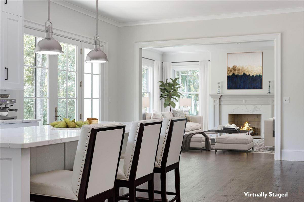 Luxury homes in new  completely custom Modern Farmhouse