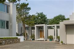 Luxury properties modern architectural masterpiece atop 25 acres