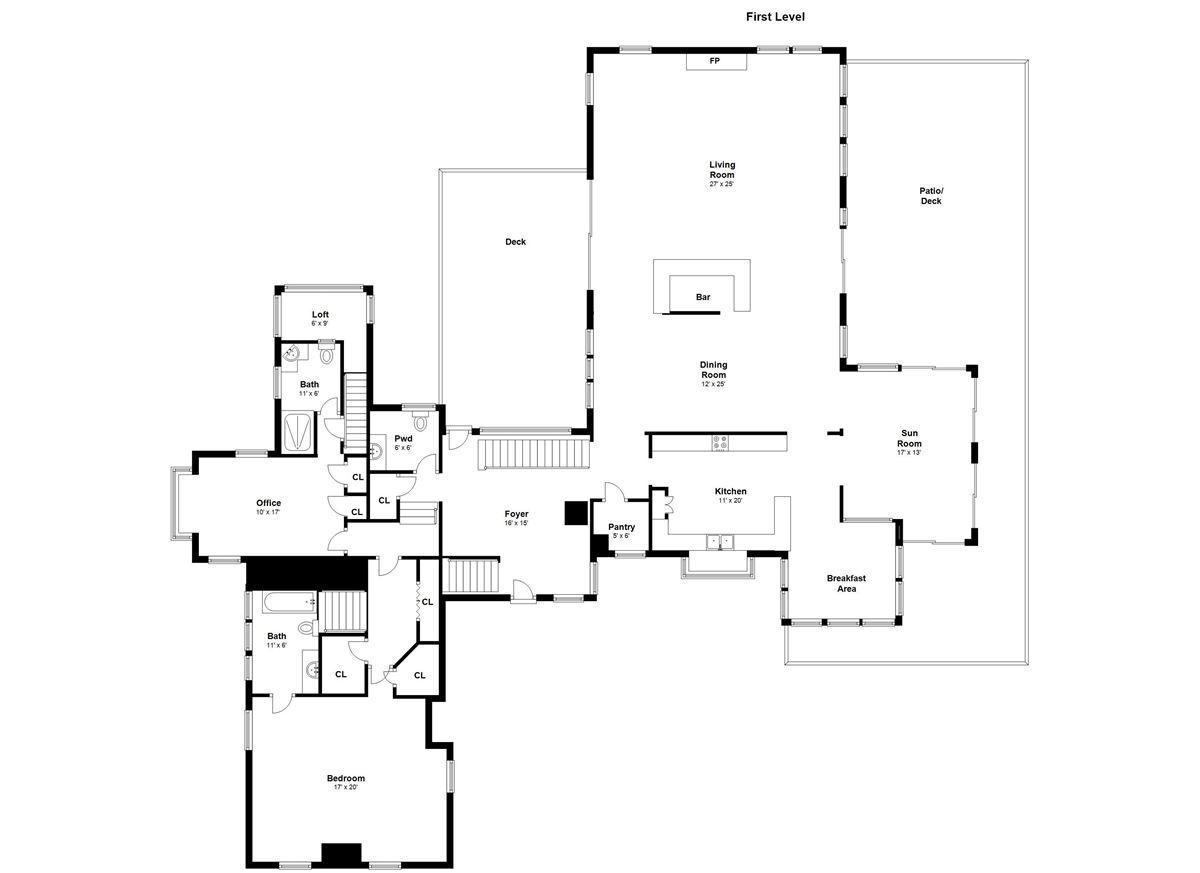 Luxury real estate Enchanting four acre estate