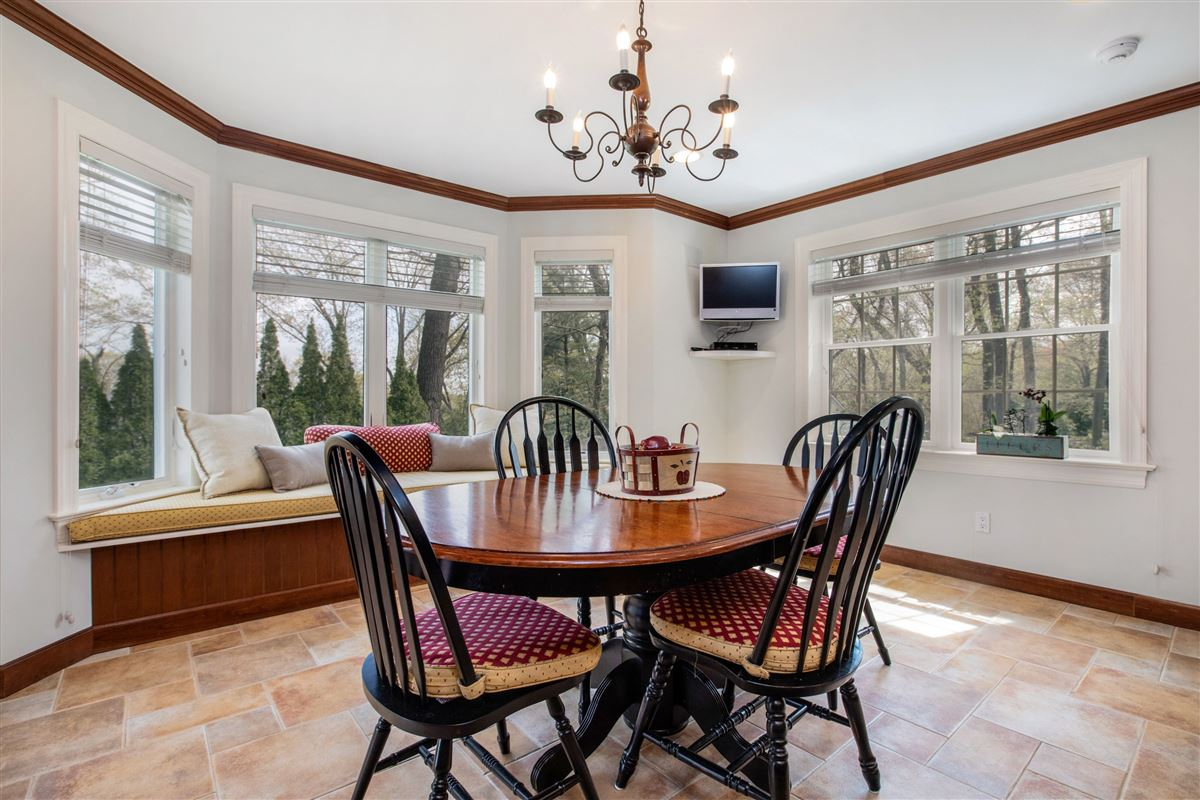 Luxury properties Stylish and renovated home offers a deck and backyard