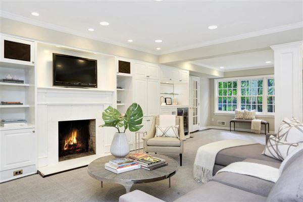 Coveted mid-country colonial in greenwich luxury homes