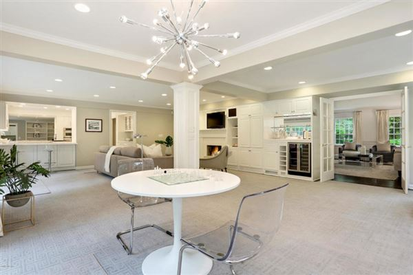 Coveted mid-country colonial in greenwich luxury real estate