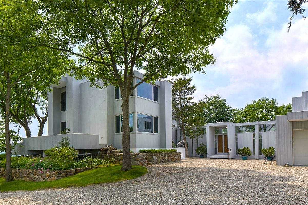 Luxury homes in modern architectural masterpiece on 25 acres