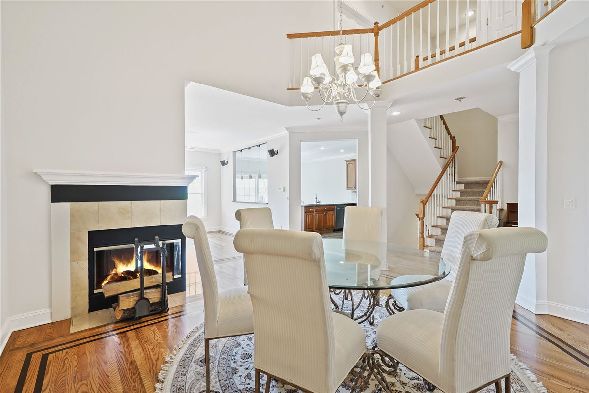 Luxury real estate a riverfront unit at The Landing in Dobbs Ferry
