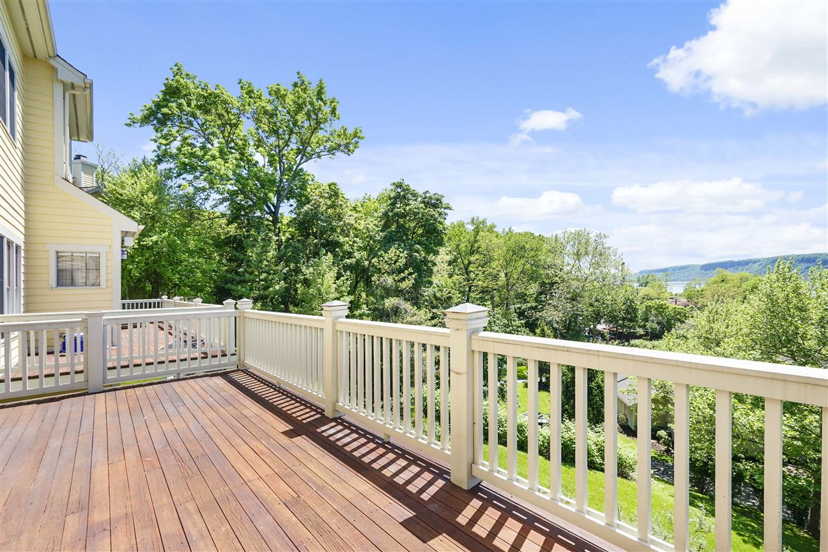 a riverfront unit at The Landing in Dobbs Ferry mansions