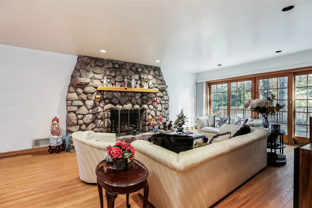 Luxury real estate Renovated stone and shingle home
