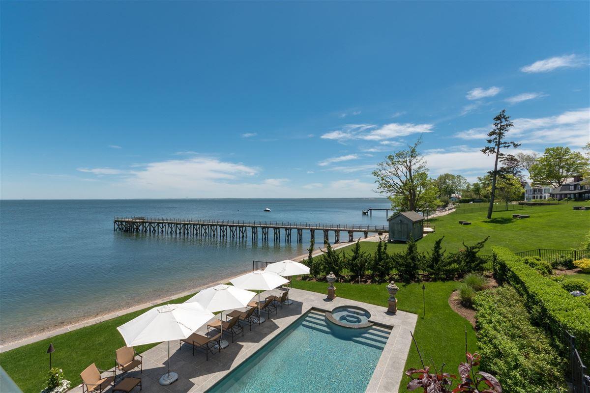 Luxury real estate stunning waterside oasis