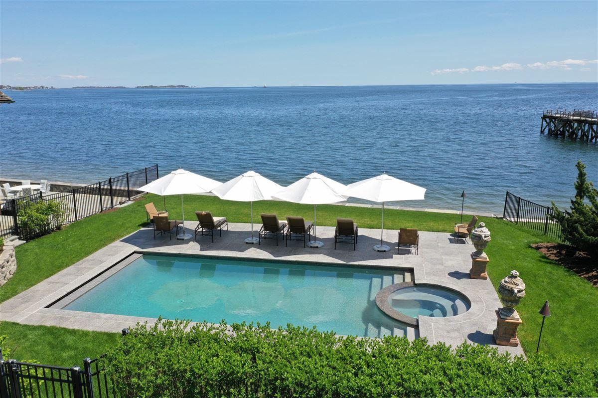 Luxury properties stunning waterside oasis