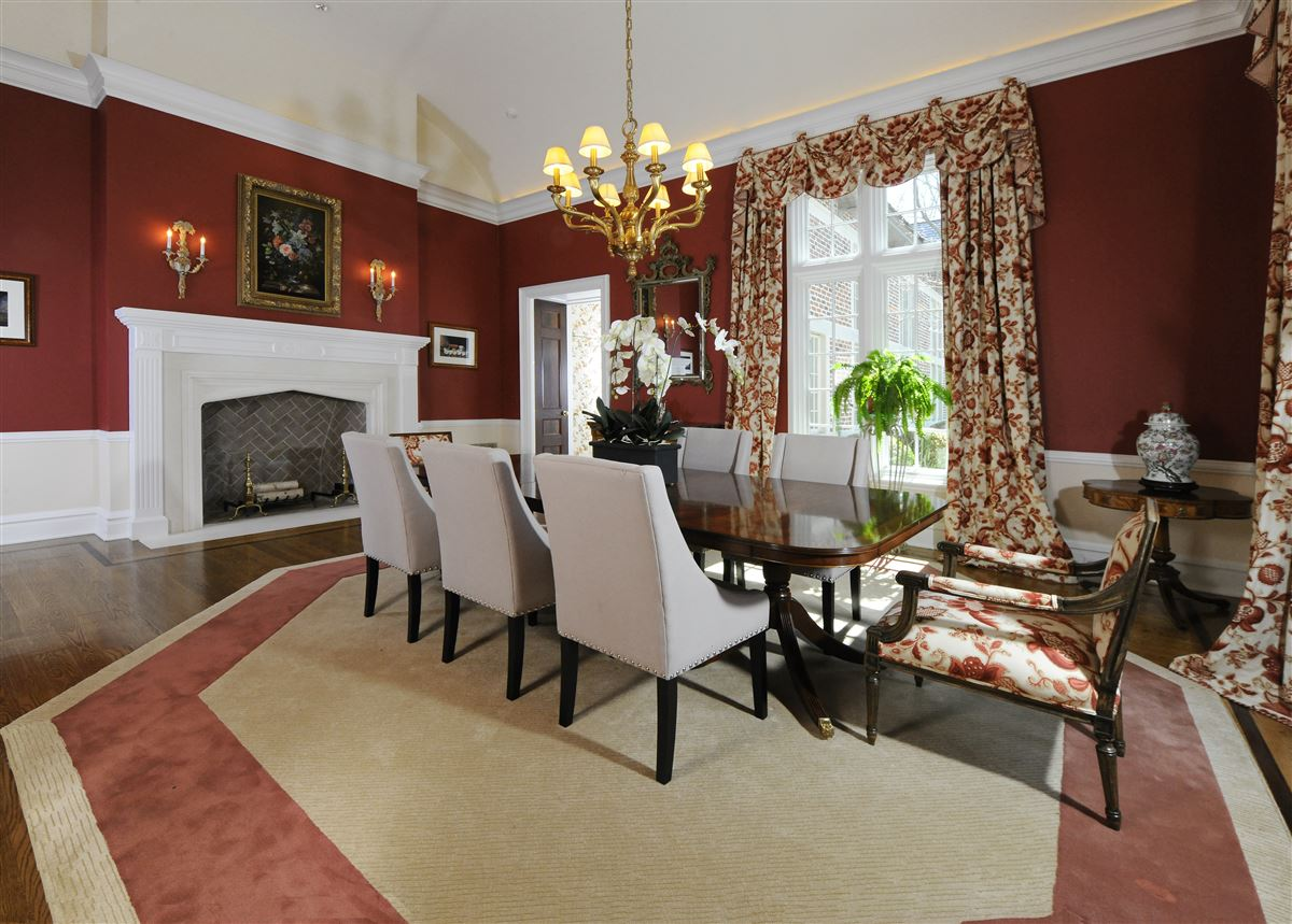 Luxury homes in magnificent English Manor