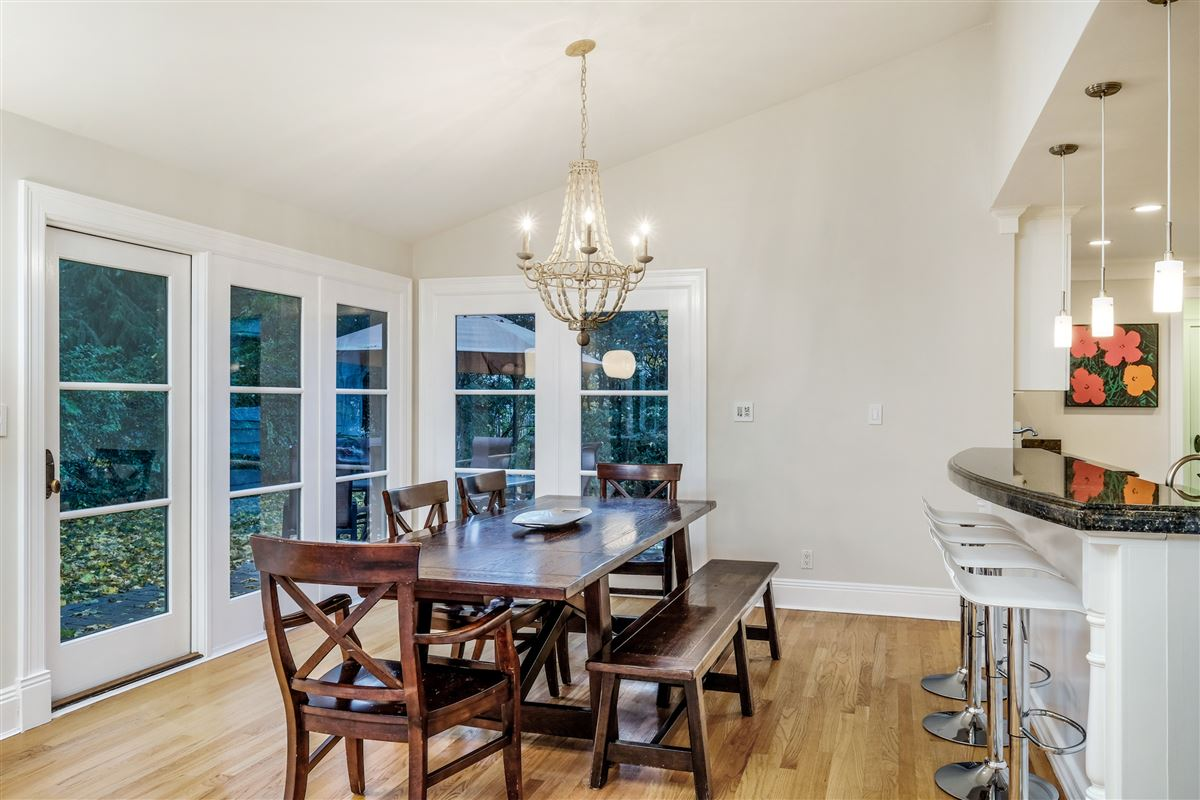 Recently updated colonial in scarsdale luxury homes
