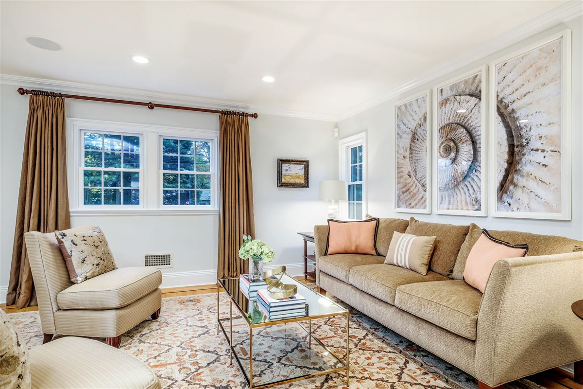 Recently updated colonial in scarsdale luxury properties