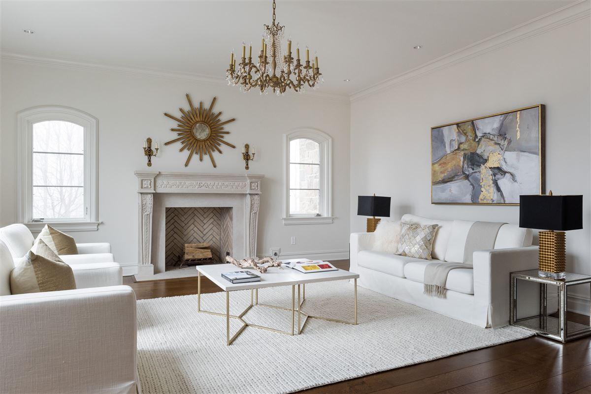 Luxury homes elegant European inspired stone Manor