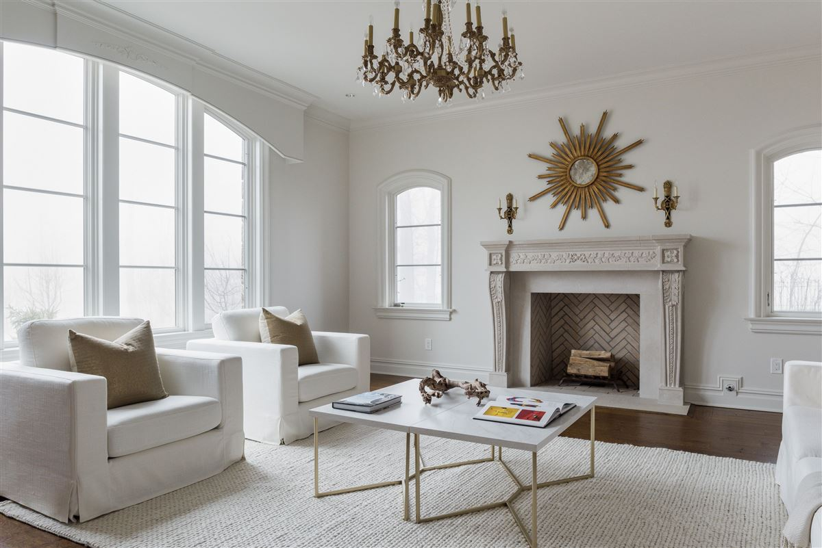 elegant European inspired stone Manor luxury homes