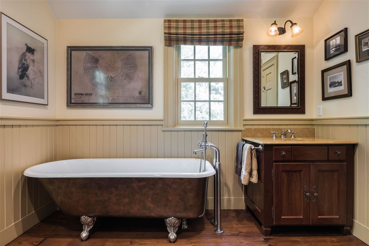 Luxury properties meticulously restored and updated shingle country house